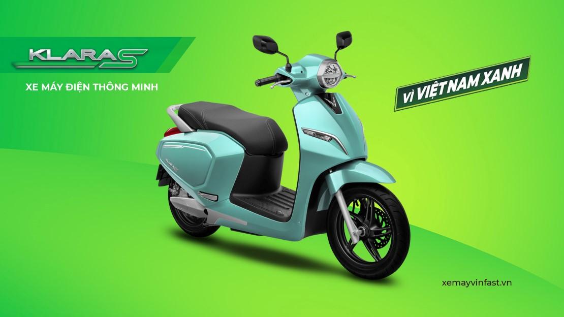 Klara S - xe máy điện vinfast thông minh